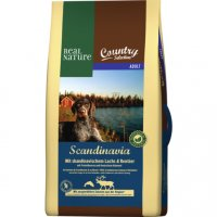 Real Nature Country Selection Scandinavia mit skandinavischem Lachs & Rentier