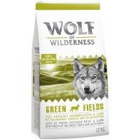 Wolf of Wilderness Green Fields - Lamm